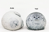 Fluffy Seal Plush Pillow
