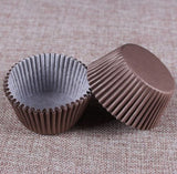 Beautiful & Colorful Paper Cup Cake/Muffin Mold (100 pcs/lot, Bakery)