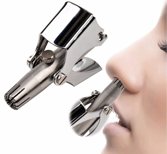 Stainless-Steel Nose Hair Trimmer (Beauty)