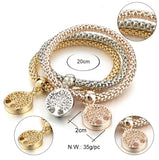 Special Design Gold Tree Charm Bracelet For Ladies (Jewelry)