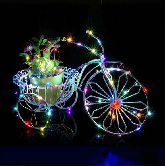 Bright LED String Fairy Lights for Christmas Party & Wedding Decoration (Halloween, Christmas, New Year))