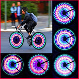 Multi-Pattern Colorful Bicycle Wheel Safety Lights (Sports)
