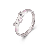 Cute Pink Piggy Ring (Jewelry)