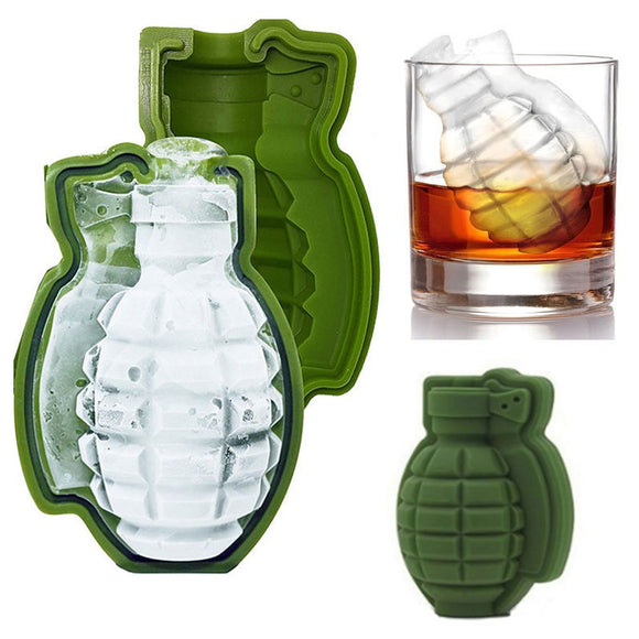 New 3D Bomby Ice Cube Mold (Kitchen, Bakery)
