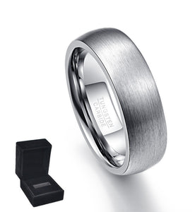 Highly Polished Smooth Tungsten Carbide Ring (Jewelry)