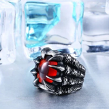 Dragon Claw Steel Ring (Jewelry)