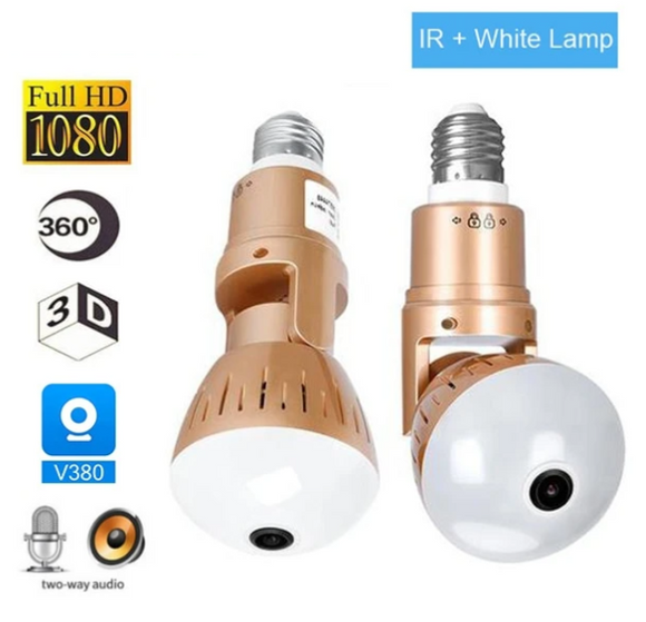 Light Bulb Security Camera (Electronics, Gadget)