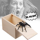 Spider Scare Prank Box (Halloween, Xmas, New Year, April Fool, etc.)