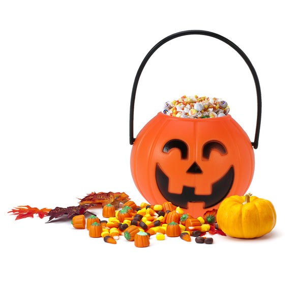 Portable Pumpkin LED Bucket (Halloween)