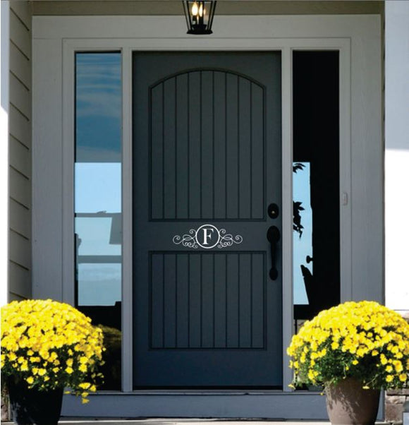 Door Decor (Name Wall Decal)