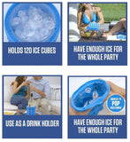 Revolutionary Portable Space Saving Ice Cube Maker (Kitchen)