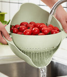 Anti-Spill Fruits and Vegetable Strainer (Kitchen)
