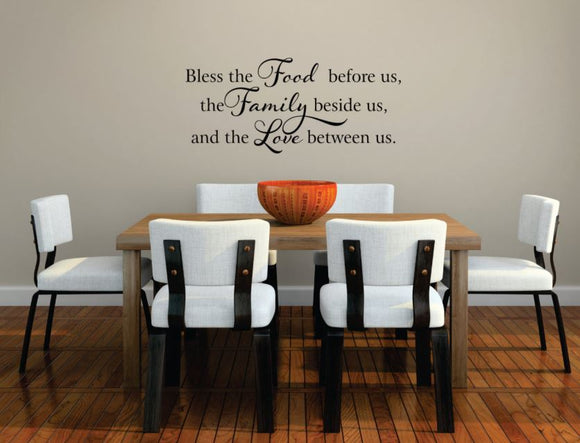 Kitchen Decor (Wall Decal/Wall Art) -