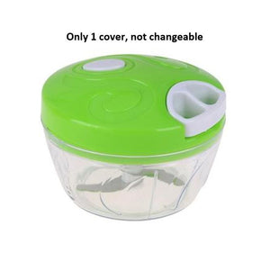 Instant Pull-Cord Food Chopper (Salad, Vegetables, Fruits, Lean Meat Grinder, kitchen use)