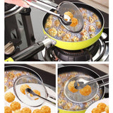 Fried Food Oil Draining Strainer Tong (Kitchen)