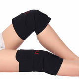 Tourmaline and Magnet Therapy Self-Heating Knee Brace Support (1 Pair)