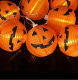 Halloween Jack-o'-lantern Pumpkin LED String Light Decoration