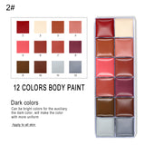 Colorful Oil Paint Makeup Kit (Halloween, Beauty)
