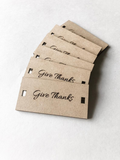 """Give Thanks"" Special Gift Cards (Decor)"