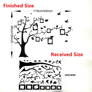 Large Family Tree DIY Wall Decal