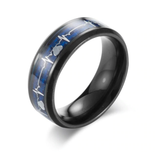 Lovely Heartbeat Tungsten Carbide Ring (Jewelry)