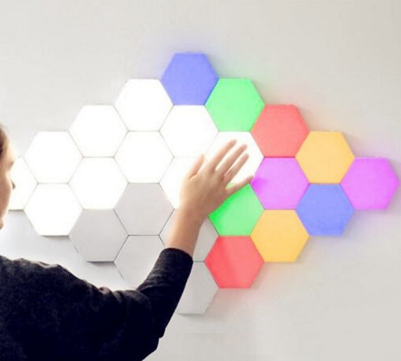 Hexagonal LED Touch Lamps (Lightings)