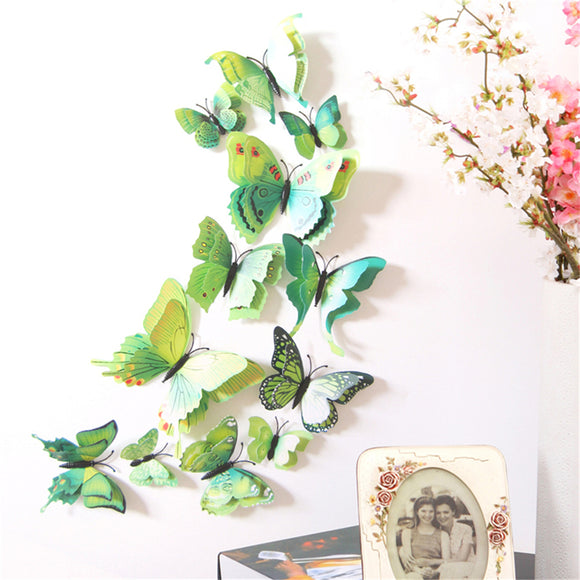3D Butterfly Decoration DIY Home Wall Decal