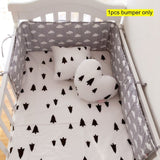 Safe Multi-Design Crib Bumper for Baby Cot