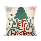 Beautiful Christmas Theme Sofa Cushion Cover for Home Decoration