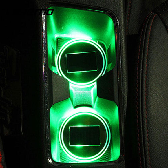 Universal Car Cup Mat Lamp (Automotive)