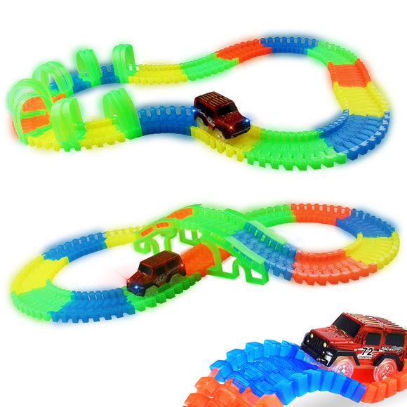 Super Fun Hot Wheels Toy Car on Lovely Racing Track Set for Children