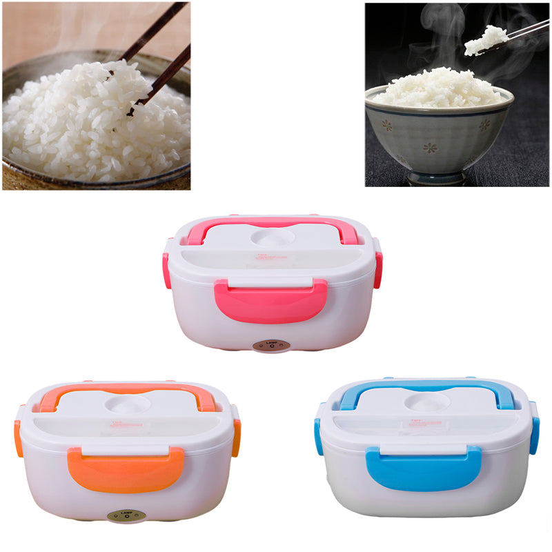 Portable Heated Lunch Box Electric Oven Cooker Food Warmer (kitchen)