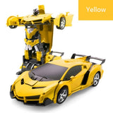 Robot Car No Touching Transformed (Toy)