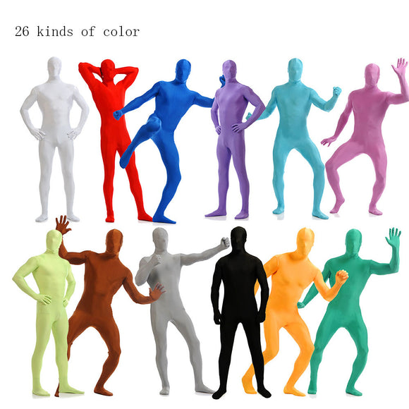 Zentai Full Body Suit Cosplay Costume (Party wear for men in Halloween, Xmas, etc)