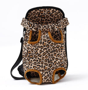 Furry Pet Friend Carrier Backpack