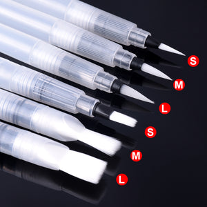 Portable Watercolor Paint Brush (6 PCs, art)