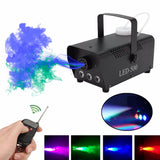 Wireless Remote Colorful Fog Machine (Parties like Halloween, Christmas, etc)