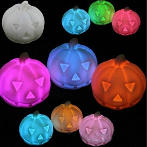 Color Changing Pumpkin LED Light (Halloween)
