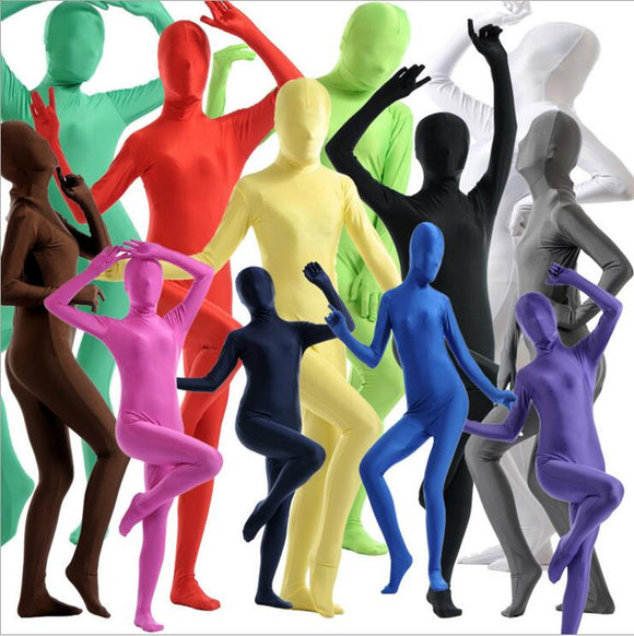 Zentai Full Body Suit Cosplay Costume (Party wear for women/kids in Halloween, Xmas, etc)