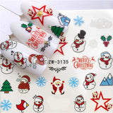 Party Fun Nail Sticker (Halloween, Christmas, New Year, etc.)