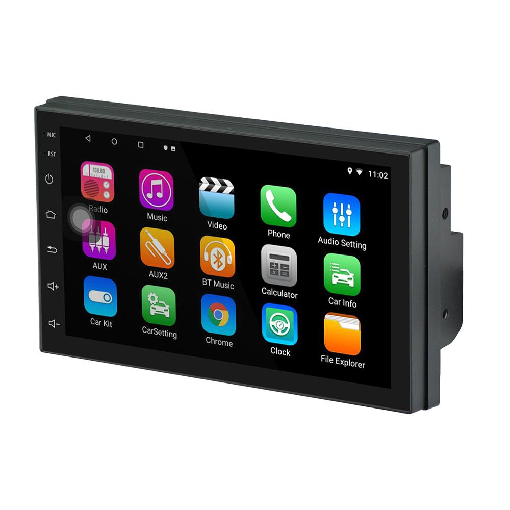 Ezonetronics Double Din Car Stereo Android Navigation Bluetooth 1G/&16G Touch Screen Car Multimedia Radio Support Mirror Link Play