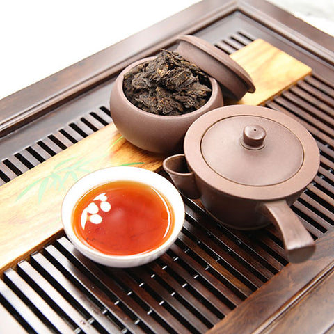 fermented pu erh tea