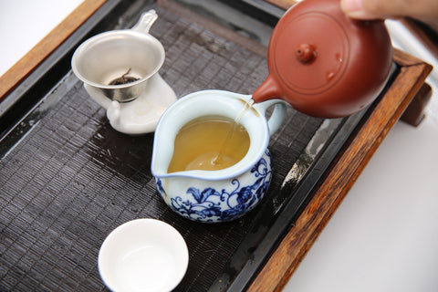 Homemade Chaozhou Style medium roasted Oolong tea