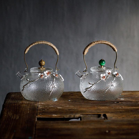 Boutique Japanese Heat Resistant Glass Teapot