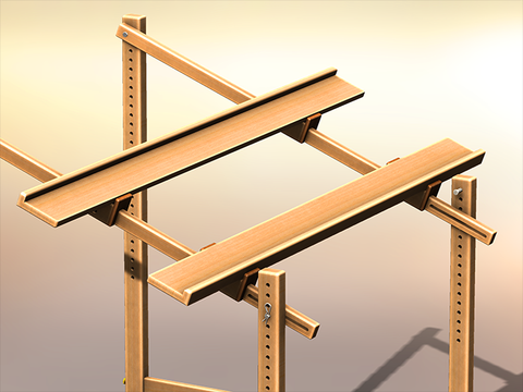 Small Frame Support Bars