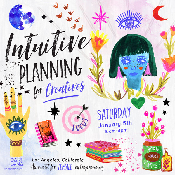 Intuitive Planning for Women that Create
