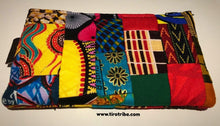 Kenya Tatu patchwork purse