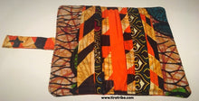 Chocolate orange wallet purse