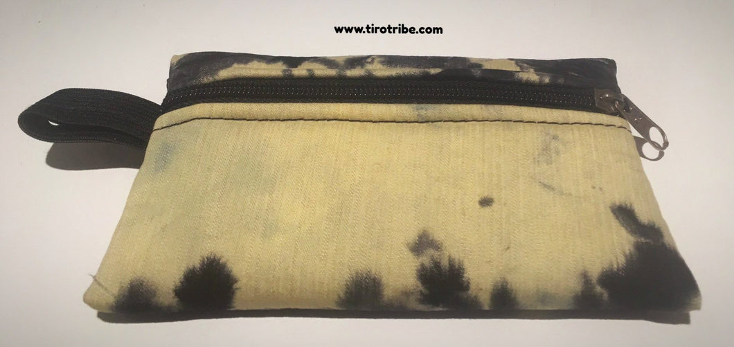 Mini black and cream rectangle purse