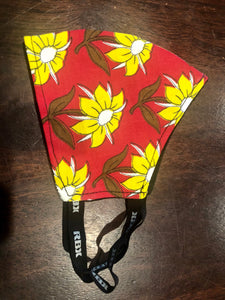 Daisy Kanga Fabric Mask